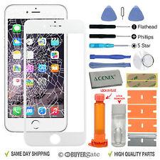Smartphone Apple iPhone 6 (4.7 pulgadas) de reemplazo de pantalla de Cristal Frontal Blanco Kit de reparación de Reino Unido