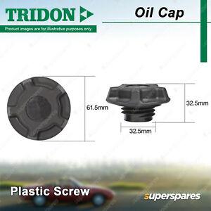 Tridon Oil Cap for Holden Jackaroo UBS17 UBS55 UBS98 Rodeo TF88 TF93 TF97 TF99
