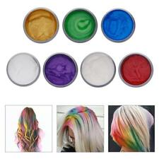 8 Colors DIY Hair Color Wax Mud Dye Cream Temporary Modeling Mascara Unisex ss