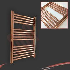 600mm(w) x 800mm(h) Designer Straight Copper Heated Towel Rail (1624 BTUs)