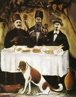"""perfect oil painting handpainted on canvas"""" Feast of Three Noblemen""""@N5478"""