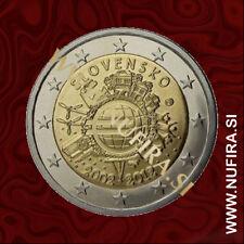 2012 Slovakia 2 EUR (10 Years)