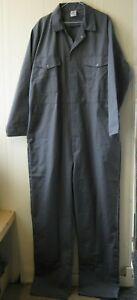 Alexandra Coveralls Overalls Boiler Suit Bristol Workwear Grey Pop Button