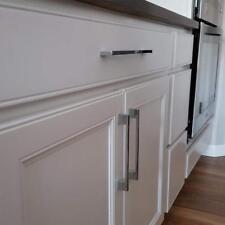 Slimline Kitchen Cabinet Handles Cupboard Door Drawer Bar Handle Brushed Silver