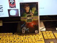 Ben 10: Alien Force (Sony PlayStation PSP) Complete Cib