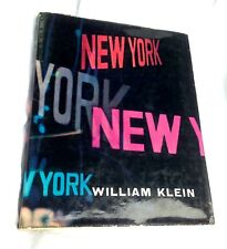 William Klein LIFE IS GOOD & GOOD FOR YOU IN NEW YORK Feltrinelli 1956 +Opuscolo