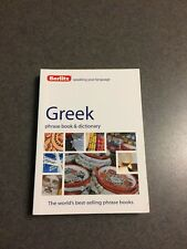 Berlitz Greek Phrase Book and Dictionary Paperback 224 Pages