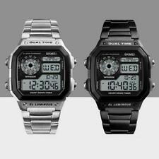 SKMEI Watch Waterproof Digital LED Wristwatch Fashion Watches Sport Mens B4K8