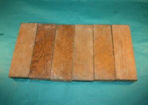 Reclaimed Individual Blocks Of Oak Hardwood Parquet Flooring
