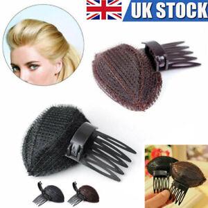 Forehead Hair Volume Fluffy Puff Sponge Pad Clip Comb Insert Base DIY Styling UK