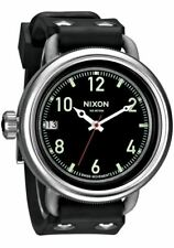 Original Nixon Men's A488000 October Black 48.5mm Swiss Dive Rubber Strap Watch