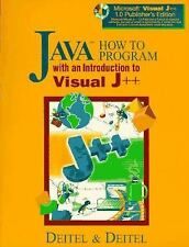Java How to Program with an Introduction to Visual J++ by Harvey M. Deitel