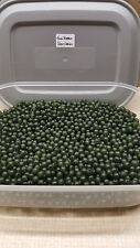 6mm Soft Rubber Shock Impact Beads,Transparent Green.Chod,Hair Rigs + Free Gift