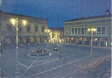 PESARO - PIAZZA DEL POPOLO - V anni '70 - FG - notturno