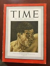 Joe Louis - Boxing - World War II - 1941 TIME Magazine - Complete Issue