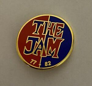 Paul Weller The Jam The Style Council Enamel Pin Badge Mod