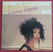 "HENRIETTE COULOUVRAT  MAXI 12"" JOHNNY BIGAME SYNTH POP   NEW WAVE"