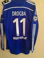 Chelsea Drogba Montreal ,8,9,10,11 Player Issue Shirt uefa  Match Unworn Jersey