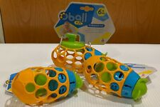 81539 Oball H2O Tubmarine - Wind-up Submarine Toy - Ages 6+ Months - Set of 3