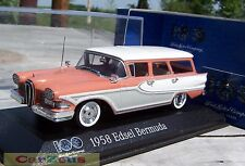 1:43 Minichamps 1958 Edsel Bermuda. 100 Years of Ford Heart & Soul Collection