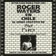 "Roger Waters""Live In Estadio Nacional,Santiago,Chile 2002""2CD SRS RECORDS SEALED"