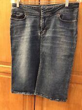 "JOE'S JEANS Women's Vintage Denim Pencil Skirt 10"" Sexy Front Slit Sz: 31"" $179."