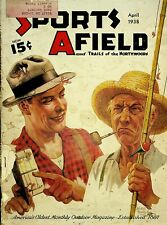 Vintage Sports Afield April 1938 Hunting Fishing Camping Sporting