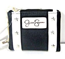 Jessica Simpson Coline Bifold Wallet JS13992R White/Black New NWT