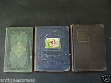 3 LOT GRIMMS FAIRY TALES , ON THE EDGE OF THE CLIFF, LIFE OF GIDEON SPENCERVILLE