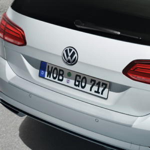 Original Ladekantenschutz, Folie, transparent, VW Golf VII Variant 2017-2020