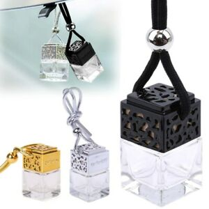 20X Car Fragrance Diffuser Bottle Empty Hanging Air Freshener Oil Perfume Scent
