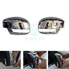 2pcs Chrome Car Rearview Side Door Mirror Cover Trim Refit For Ford Focus 2012