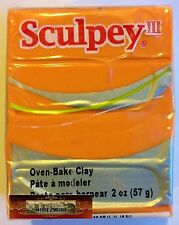M00501 Morezmore Sculpey Iii Sweet Potato Orange 2 oz Polymer Clay A60