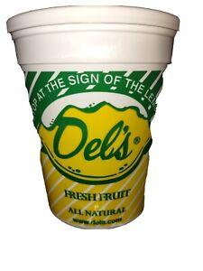 Del's Lemonade Lemon Dry Mix - 16 oz - All Natural - Fast, FREE SHIPPING!!