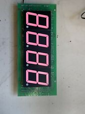 "Board With 2.25"" Red LED Displays"