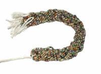 "Handmade Natural Semi Disco Gemstone 4-5mm Rondelle Faceted Beads 13"" Strand"