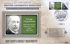 (02925) GB Benham Cover George Jackson Churchward 19 December 2013
