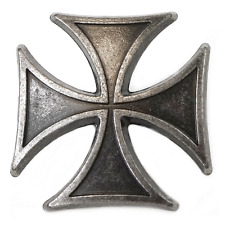 Eisernes Kreuz Motiv (mit Schraube) Niete Knopf Motivnieten Ziernagel Zierniete