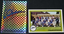 PANINI FOOT 1994 OLYMPIQUE CHARLEVILLE-MEZIERES COMPLET FOOTBALL SAISON 1993-94