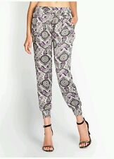 NEW Guess Summer Paisley-Print Cropped Pants size S