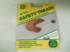 "MYRO  No-Slip Safety Treads Item #35 - 3/4"" x 10"" Quantity of 10 - Clear - New"