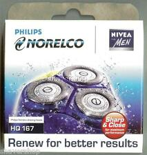 NEW PHILIPS NORELCO COOLSKIN HQ167 HQ 167 Shaver HEADS