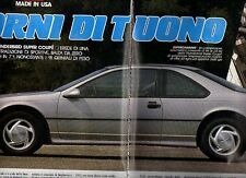 Z26 Ritaglio Clipping 1991 Ford Thunderbird Super Coupe'