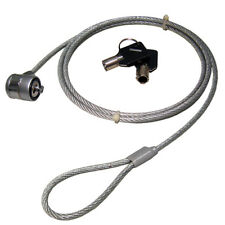 More details for laptop security cable with barrel lock kensington slot