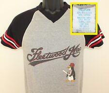 Fleetwood Mac 1982 Mirage Tour vtg v-neck tee XS/S gray 80s band concert group