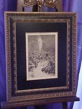ORIGINAL MUSEUM Quality Alphonse Mucha Le Pater Lithograph Circa 1899 Must C