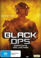 Black Ops Complete Collection Season 1 + 2 (DVD, 2017, 5-Disc Set) BRAND NEW