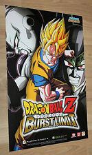 Dragon Ball Z Burst Limit / Pokemon Diamond & Pearl rare small Poster 42x28cm