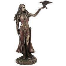 Morrigan and Crow Figurine / Wicca / Witchcraft / Irish Mythology / Nemesis Now