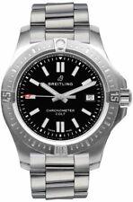 New Breitling Chronomat Colt Automatic 44 Black Dial Men's Watch A17388101B1A1
